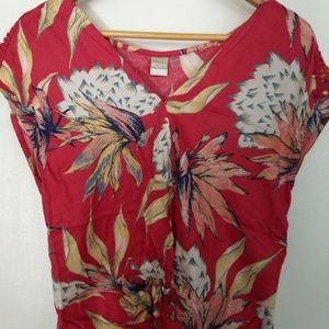 """Cute Twist Front Crop Top by ROXY, """"Tucson Colors"""""""